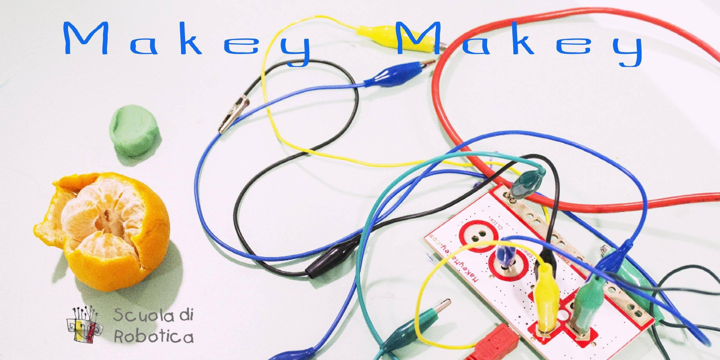 Coding gets alive: to join coding, ars and robots thanks to Makey Makey