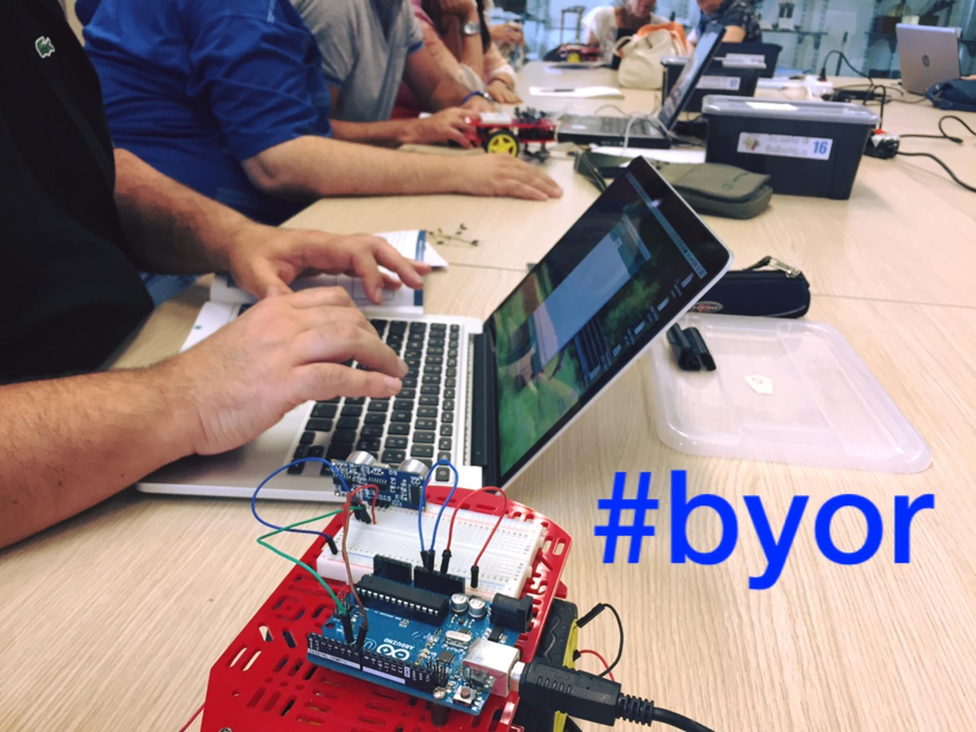 BYOR: Build Your Own Robot - Arduino in didactic
