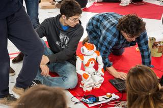 Robotic Contests and combined study/work experience: FIRST® LEGO® LEAGUE and NAO CHALLENGE