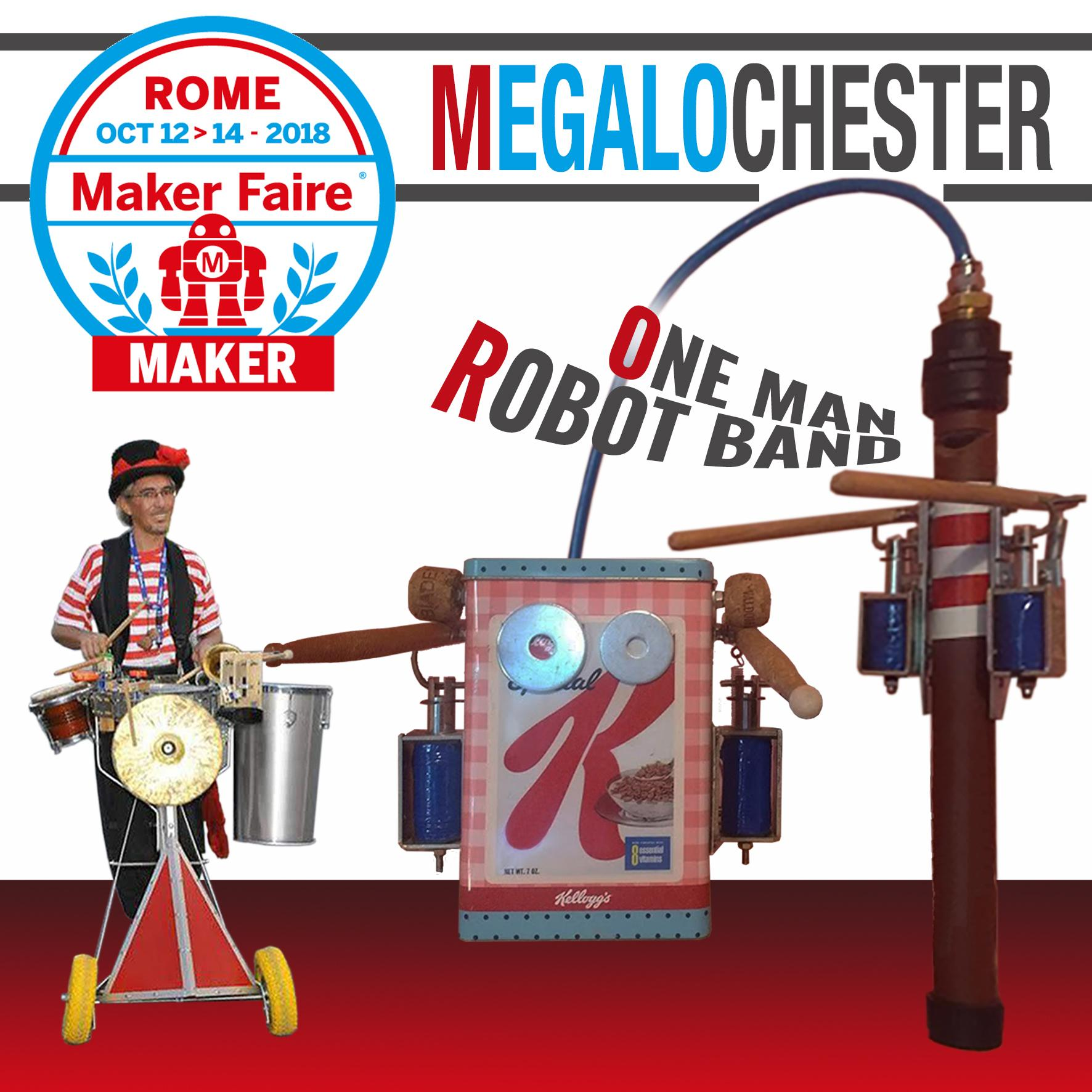Megalo Chester - a wandering mechanical orchestra